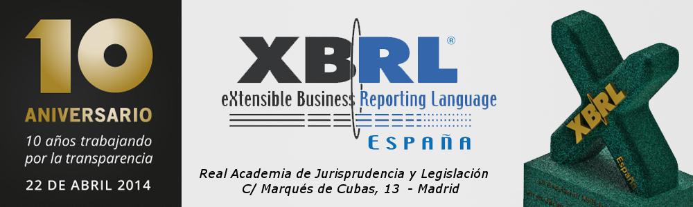 10º Aniversario de la fundación de la Asociación XBRL España